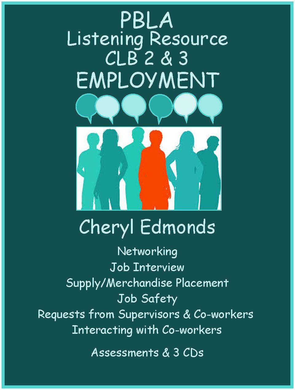 CLB 2 & 3 Listening Resource Employment